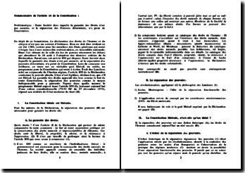 Commentaire de l'article 16 de la Constitution