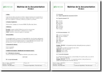 Elec'Recyclage : Maitrise de la documentation