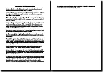 Les caractères de l'enquête préliminaire
