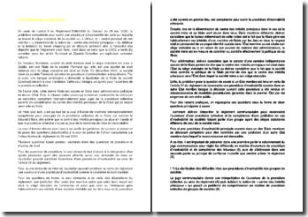 Commentaire d'arrêt de la Cour de justice de l'Union européenne du 2 mai 2006
