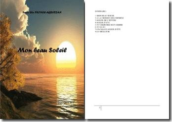 Recueil de poésies : Mon beau soleil
