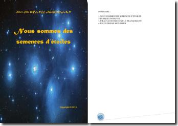 Recueil de poésies : Nous sommes des semences d'étoiles