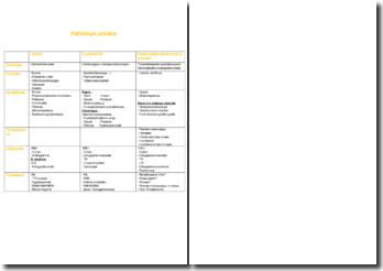 Pathologie urinaire : cystite, prostatite, hypertrophie bénigne de la prostate