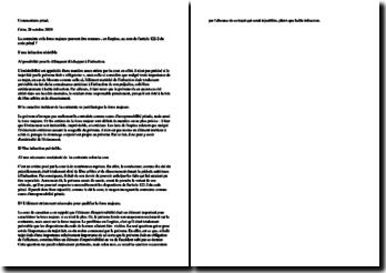 Fiche d'arrêt de la Chambre criminelle de la Cour de cassation du 28 octobre 2009 : la contrainte et la force majeure