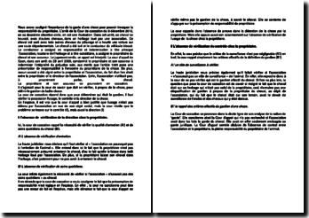 Commentaire d'arrêt de la 2e Chambre civile de la Cour de cassation du 9 décembre 2010 : la garde d'une chose