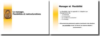 Le manager, Flexibilités et restructurations