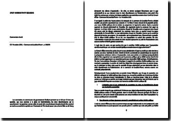 Commentaire d'arrêt du Conseil d'Etat du 19 octobre 2012, « Commune de Levallois-Perret », n 343070