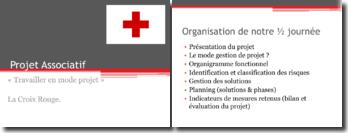 Travailler en mode projet : La Croix Rouge