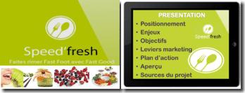 Présentation de la création de l'entreprise Speed Fresh