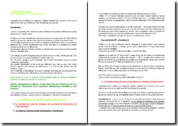 Commentaire d'arrêt du Conseil d'Etat du 23 décembre 2011 : les limites d'annulation des décisions administratives par des moyens tirés de la légalité externe