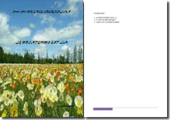 Recueil de poésies : Le printemps est là
