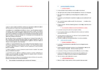 Conseil d'Etat 28 juillet 1995 Epoux Haguet (plan détaillé)