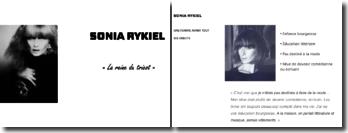 Sonia Rykiel: la reine du tricot