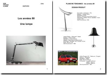 L'environnement visuel des années 80
