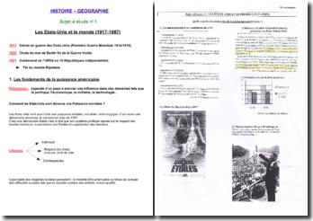 9 sujets d'étude au programme d'histoire de Terminale