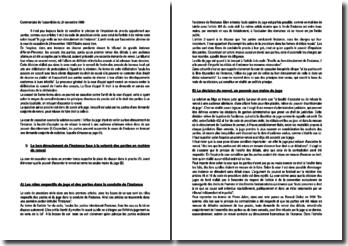 Commentaire de l'assemblée du 24 novembre 1989