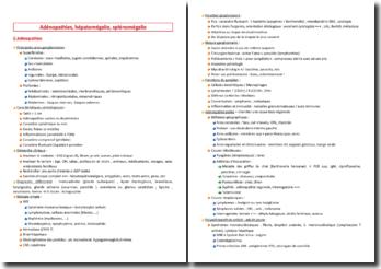 Adénopathies, hépatomégalie, splénomégalie