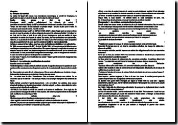 Relation de travail: la révision du contrat