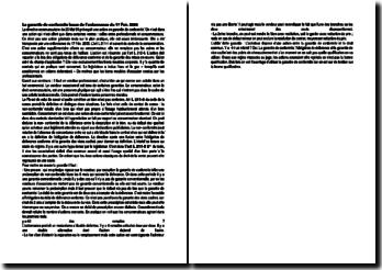 Code de la consommation: la garantie de conformité issue de l'ordonnance du 17 Février 2005