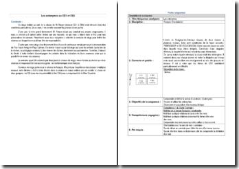 Les antonymes au CE1 et CE2 - observation d'une classe lors d'un stage