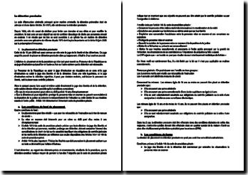 Code d'instruction criminelle: la détention provisoire