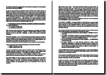 Les droits de procédure, garantit par la convention européenne de sauvegarde des droits de l'homme (CESDH)