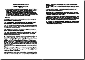 Andromaque - Racine - : analyse des vers 311-357