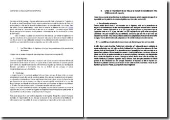 Discours préliminaires - Portalis -