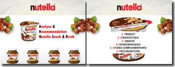Etude marketing du nouveau produit Nutella Snack&Drink- Analyse & Recommandation
