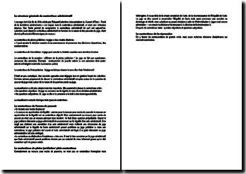 La structure générale du contentieux administratif