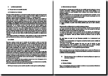 Le contrat social - JJ Rousseau -