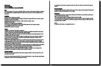 Cour de cassation, Ch Civ 1, 09/01/2008, n de pourvoi 06-16783