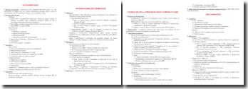 Fiches d'immunopathologie DFGSM3
