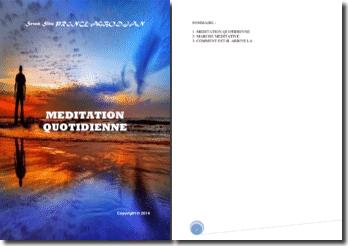 Recueil de poésies : Méditation quotidienne