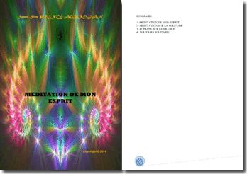 Recueil de poésies : Méditation de mon esprit