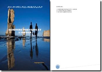 Recueil de poésies : Ecriture poétique et l'amour