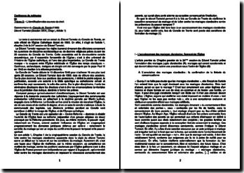 Décret Tametsi du Concile de Trente, Session XXIV, Chap II, Article 1