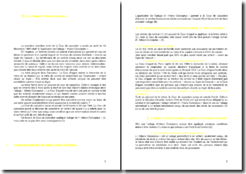 Commentaire d'arrêt de la Première Chambre civile de la Cour de cassation du 10 décembre 1985 : l'adage d'« infans conceptus »