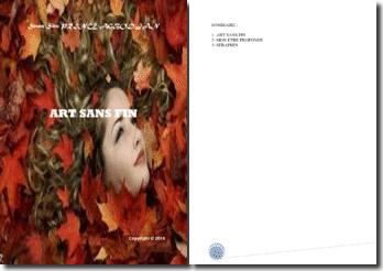 Recueil de poésies : Art sans fin