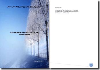 Recueil de poésies : Le grand architecte de l'univers