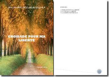 Recueil de poésies : Croisade pour ma liberté
