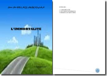 Recueil de poésies : L'immortalité