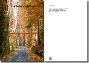 Recueil de poésies : Le succès résulte de la maitrise