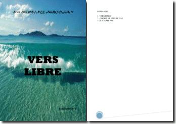 Recueil de poésies : Vers libre