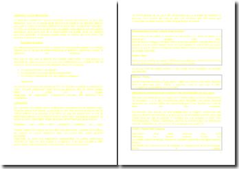 Introduction au droit des contrats anglais