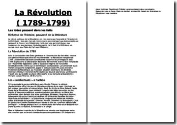 La Révolution (1789-1799) : Les idées passent dans les faits