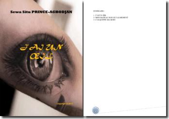 Recueil de poésies : J'ai un oeil