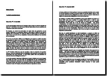 Fiches d'arrêt en droit des obligations : l'exécution forcée et l'astreinte