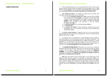 La rédaction des contrats en Suisse : la durée et la résiliation