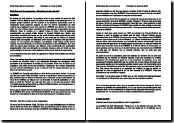 Droit suisse de la concurrence - Procédure et voies de droit